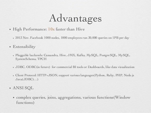 Facebook Presto presentation Slide 3