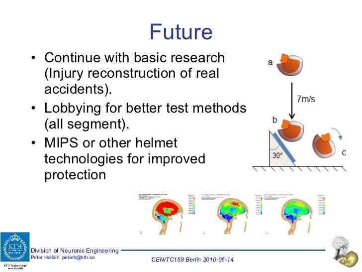 Future <ul><li>Continue with basic research (Injury reconstruction of real accidents). </li></ul><ul><li>Lobbying for bett...