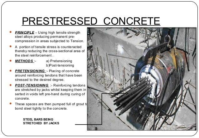 prestressed