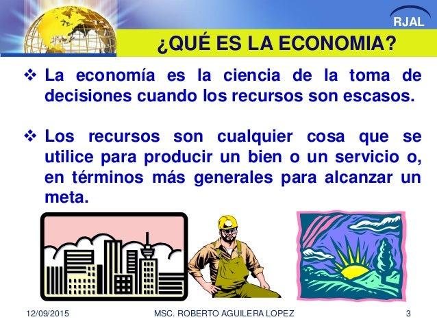 INTRODUCCION A LA ECONOMIA Slide 3