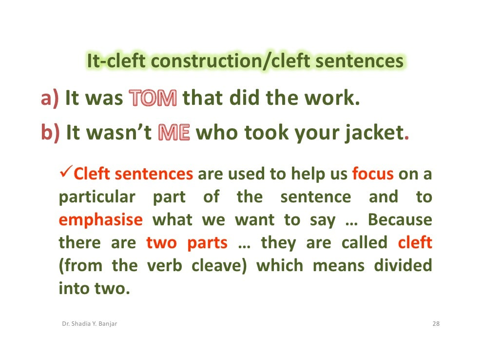 Definitive In A Sentence