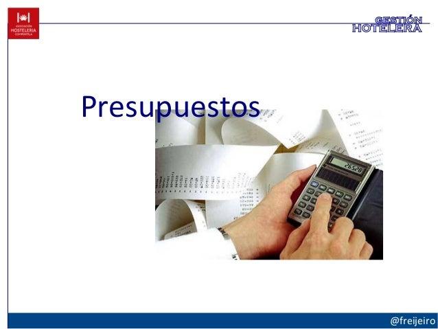 Presupuestos @freijeiro gestión hotelera