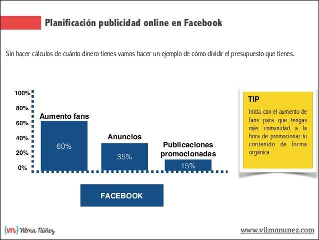 presupuesto y planificaci n de publicidad en facebook y