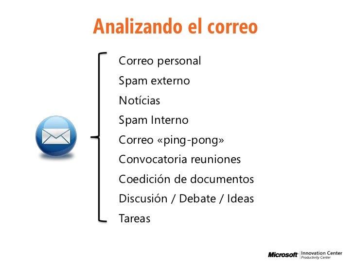 Buenas prácticas y recomendaciones para el uso del correo electrónico Slide 2