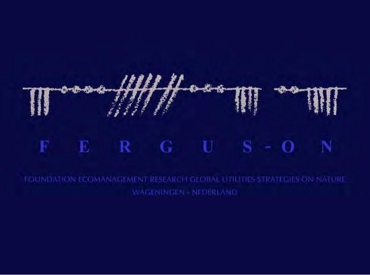 FERGUS-ON   Il vero viaggio di scoperta   non consiste nel cercare nuove terre,   ma nellavere nuovi occhi.               ...