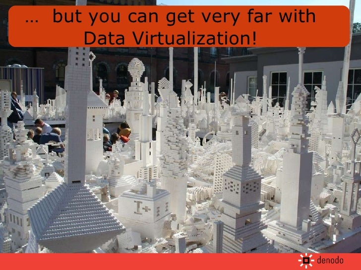…  but you can get very far with Data Virtualization!