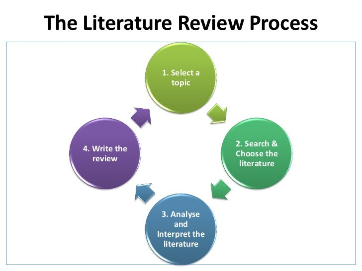 function of literature review in research process