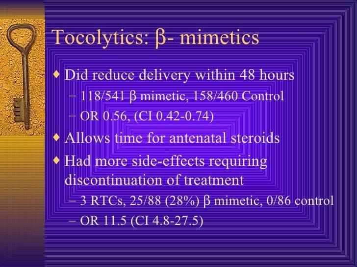 antenatal steroids side effects