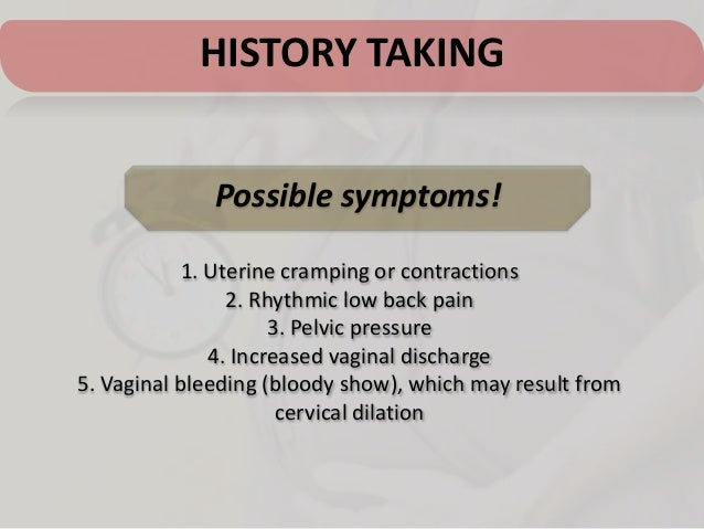 Taking Procardia For Contractions