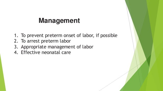 Procardia Preterm Labor Low Blood Pressure