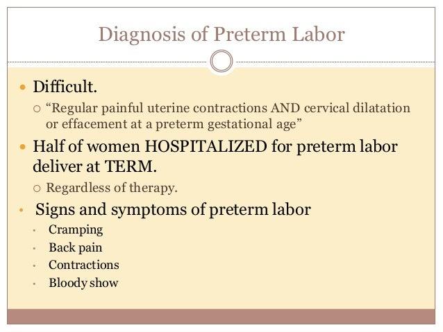 steroids in preterm labor