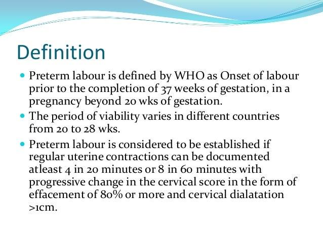 preterm labor meaning in urdu