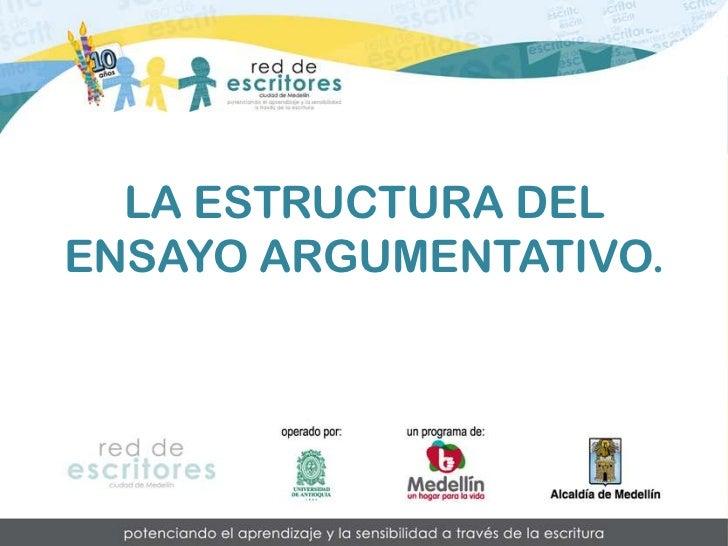 Pretextos Estructura Del Ensayo Argumentativo