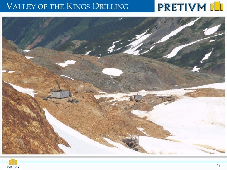 VALLEY OF THE KINGS DRILLINGTSX:PVG                        16