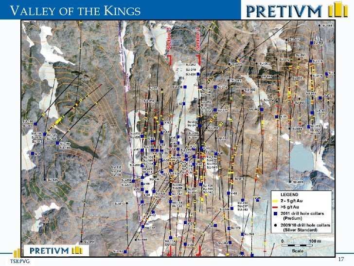 VALLEY OF THE KINGSTSX:PVG               17