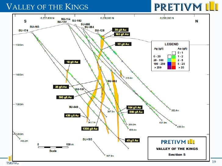 VALLEY OF THE KINGSTSX:PVG               19