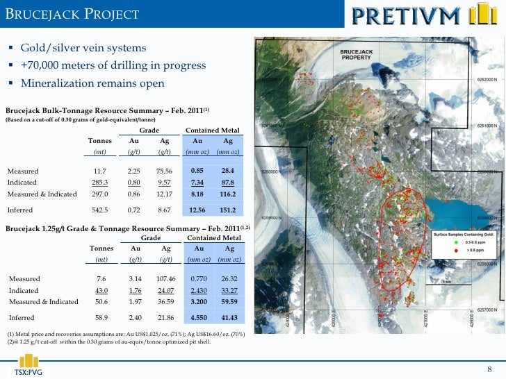 BRUCEJACK PROJECT  Gold/silver vein systems  +70,000 meters of drilling in progress  Mineralization remains openBruceja...