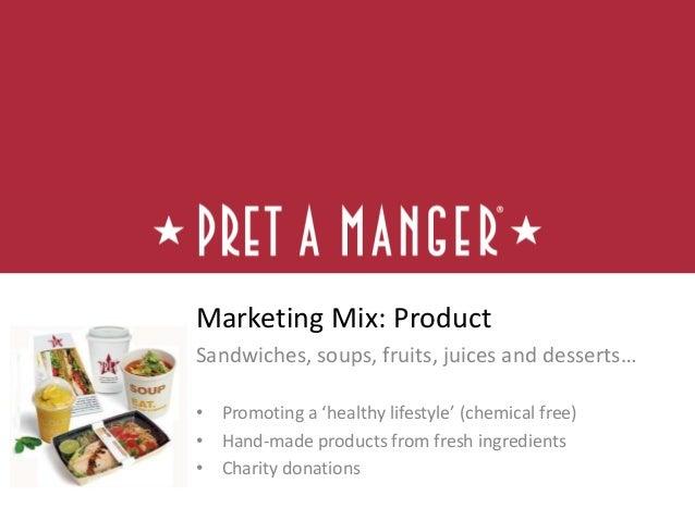 pret a manger brand positioning