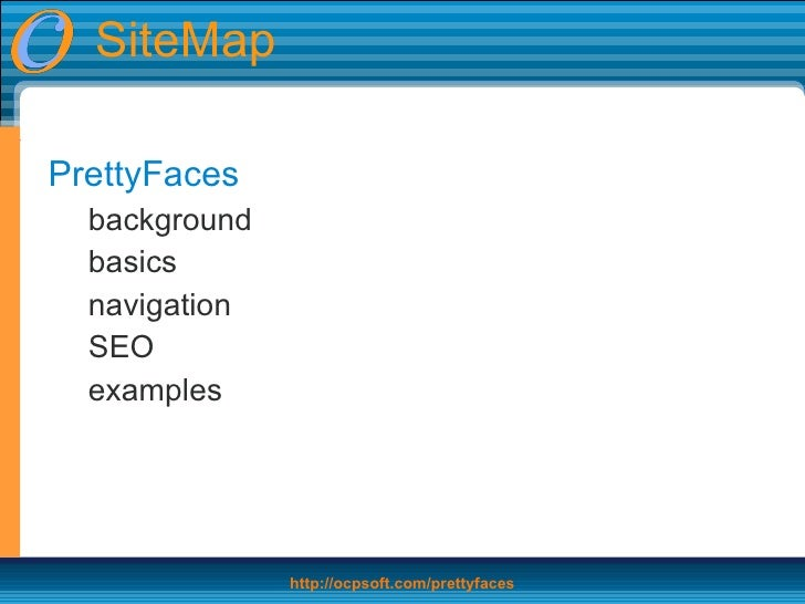 prettyfaces seo dynamic parameters bookmarks navigation for jsf