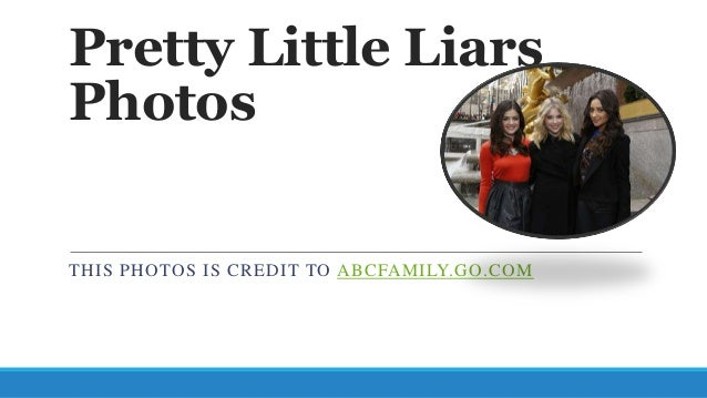 Pretty Little LiarsPhotosTHIS PHOTOS IS CREDIT TO ABCFAMILY.GO.COM