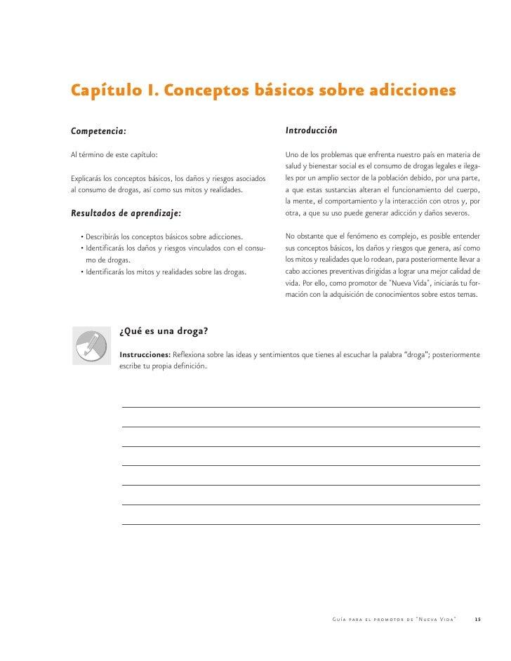 Capítulo I. Conceptos básicos sobre adiccionesCompetencia:                                                       Introducc...