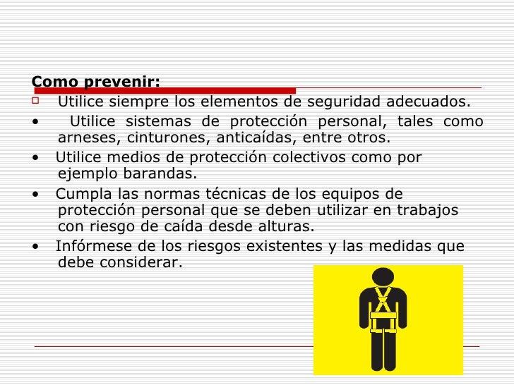Prevención de Caídas.- Slide 3