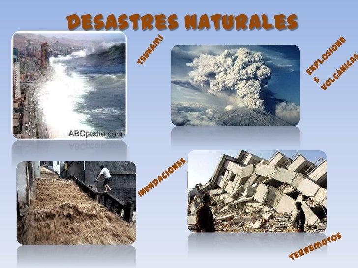 Prevencin de desastres naturales y primeros auxilios