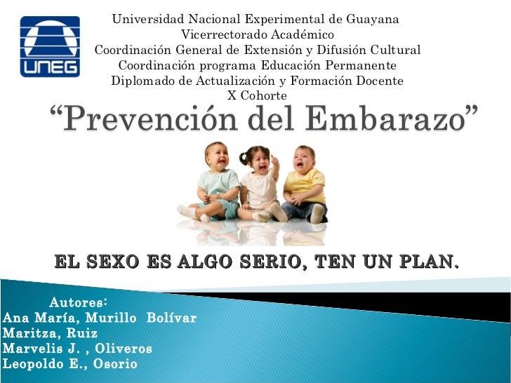 Universidad Nacional Experimental de Guayana                          Vicerrectorado Académico            Coordinación Gen...