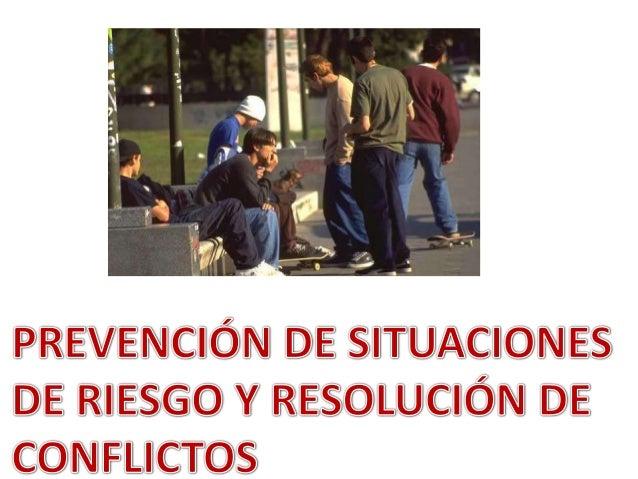 APRENDIZAJE ESPERADO: PROPONE ACCIONES PARA PREVENIR SITUACIONES DE RIESGO.