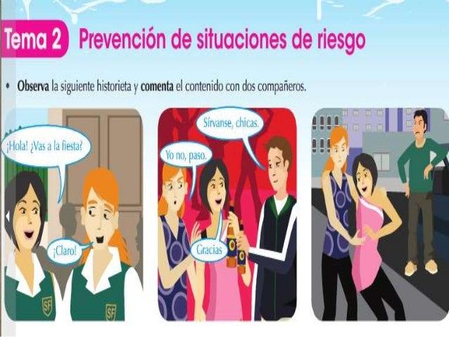 Prevención de situaciones de riesgo y conflictos Slide 3