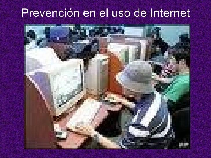 Prevención en el uso de Internet
