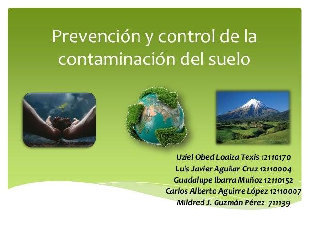 Prevenci n y control de la contaminaci n del suelo for 5 cuidados del suelo