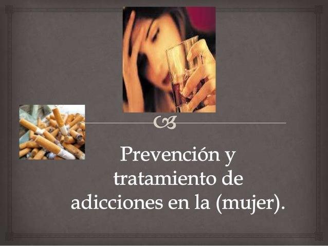 El consumo de drogas en la mujer                           Tradicionalmente los estudios  epidemiológicos han mostrado u...