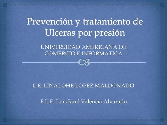 Prevención y tratamiento de ulceras por presión