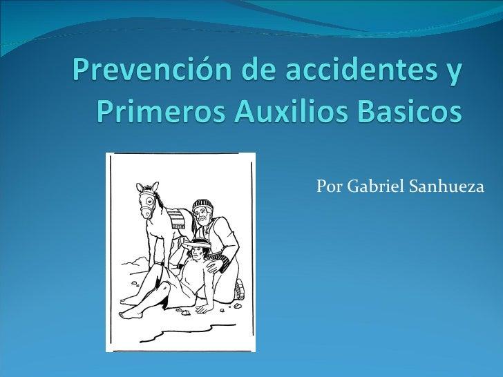 Por Gabriel Sanhueza