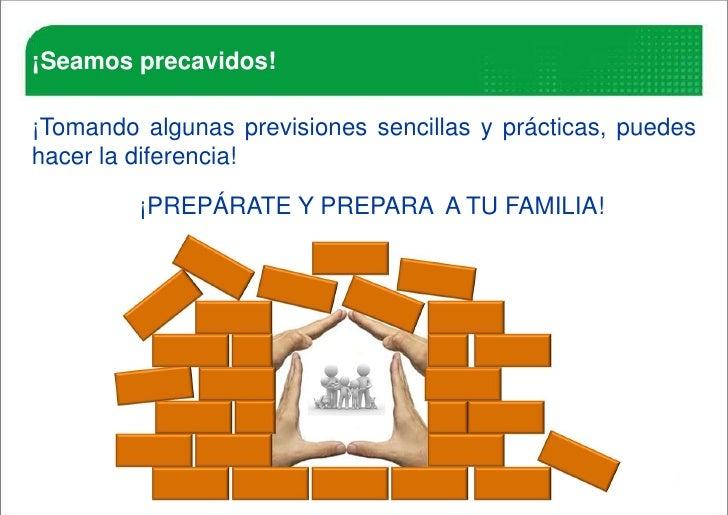 Prevencion ante un sismo Slide 3