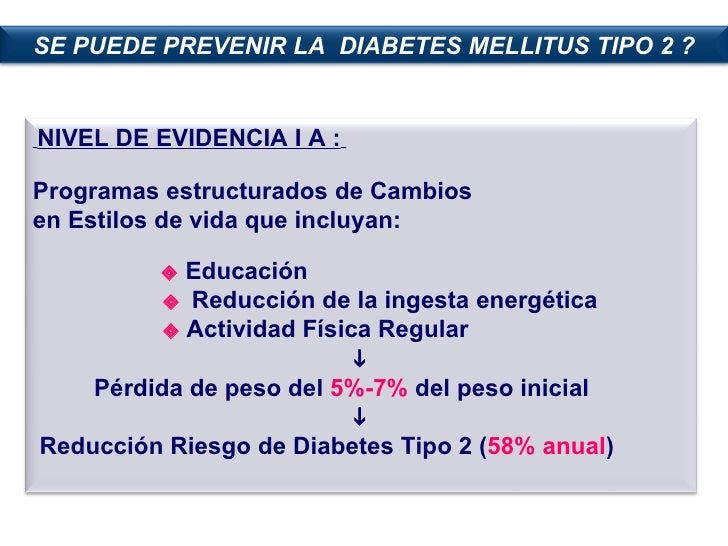 Prevencion De Diabetes Mellitus 2,Amel Bracho