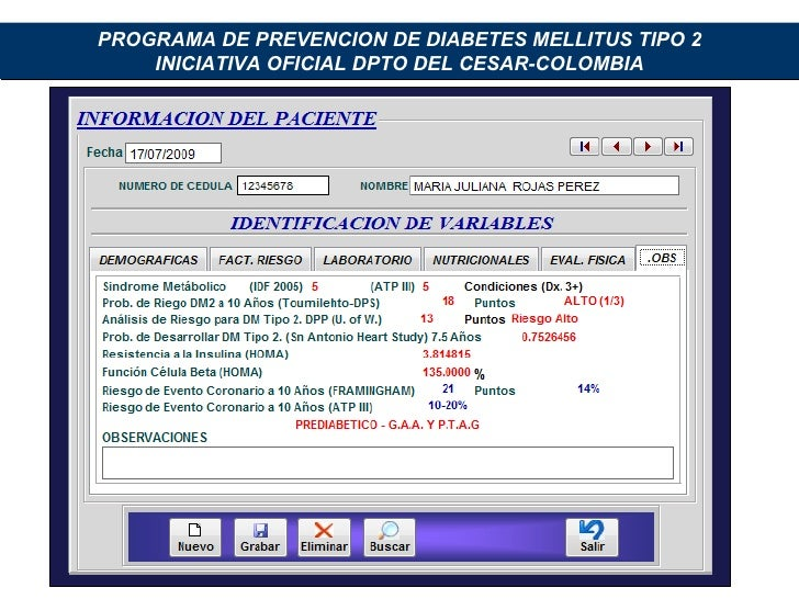 Prevencion De Diabetes Mellitus 2,Amel Bracho