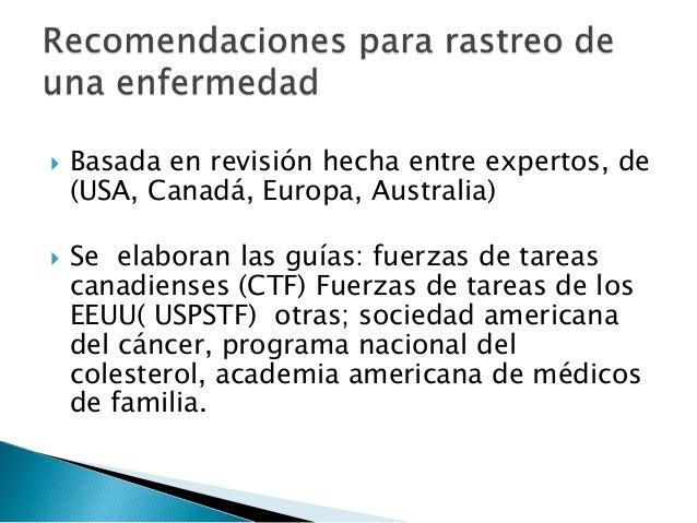 Prevencion en la practica clinica y control de salud en el adulto san…