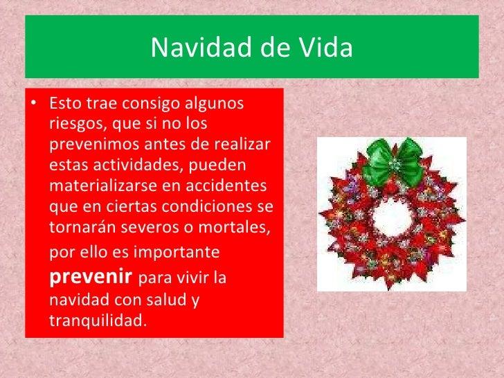.Prevencion en navidad[1] Slide 3
