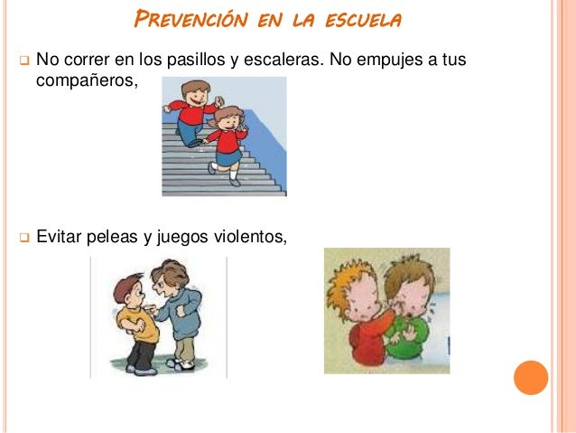 Prevenir es vivir presentaci n for Escaleras para caminar fuera del jardin