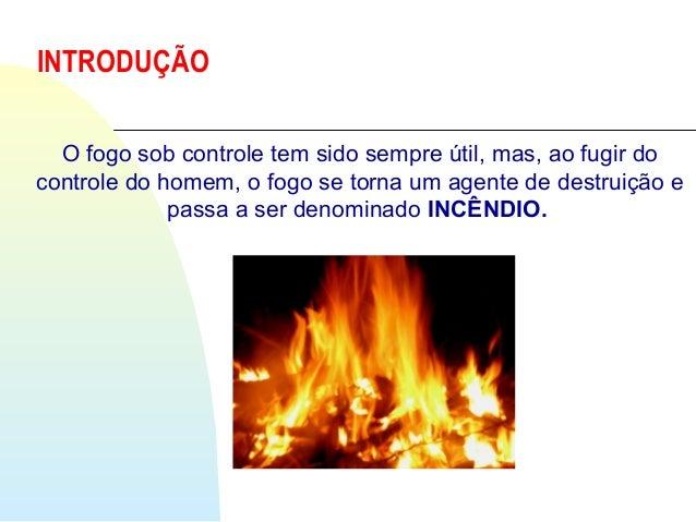Prevenção e combate á incendio Slide 2