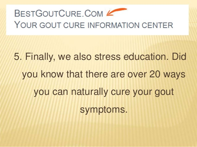 Can You Cure Gout Naturally