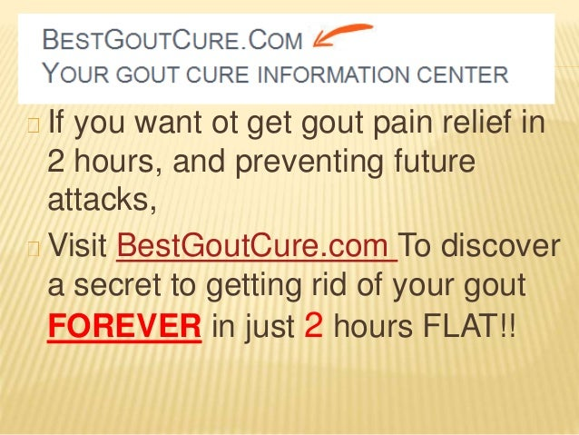 Prevent gout- what foods lower uric acid
