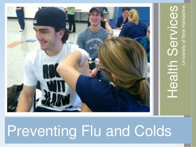 Preventing Flu and Colds                           Health Services                                University of New Hampsh...