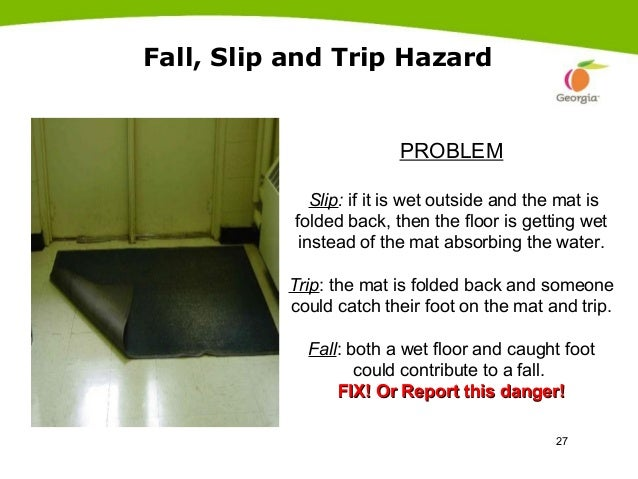 Preventing Falls Slips And Trips By Doas