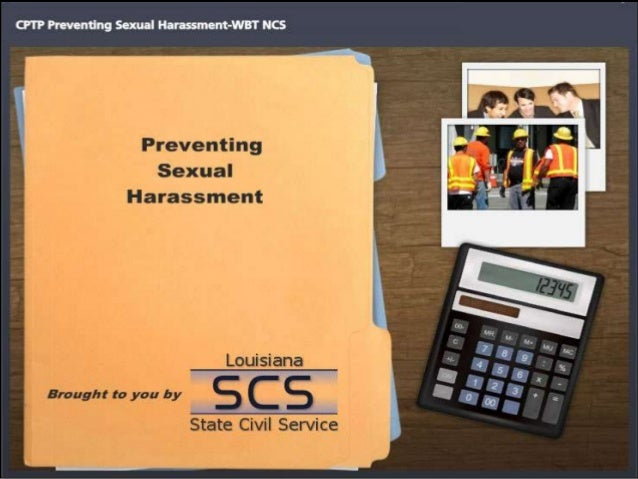 SECTION 1 What is sexual harassment?