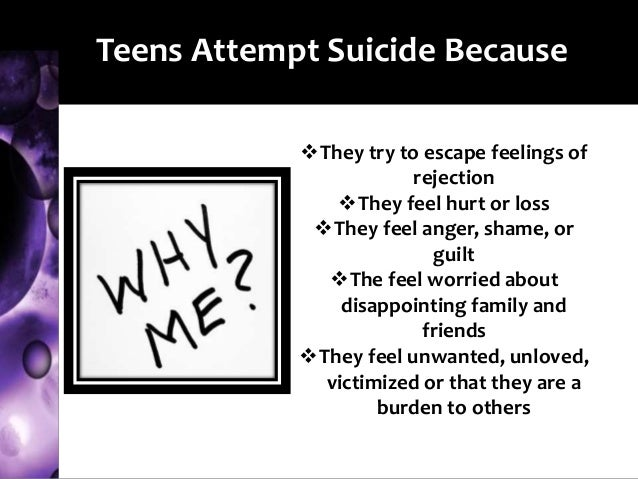 suicide in teen Speaking to your teen about suicide by american psychoanalytic association on july 02, 2018 in psychoanalysis unplugged discussing suicide with your teenagers is scary, but it doesn't have to be.