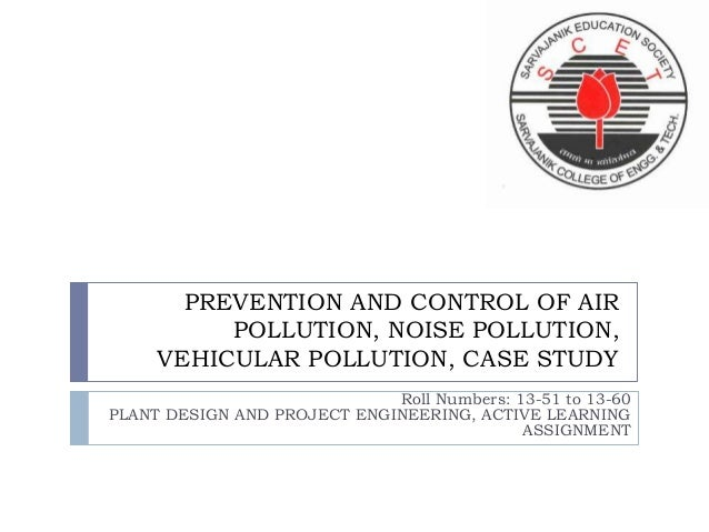 Free Case Study on Vehicular Pollution | CaseStudyHub.com