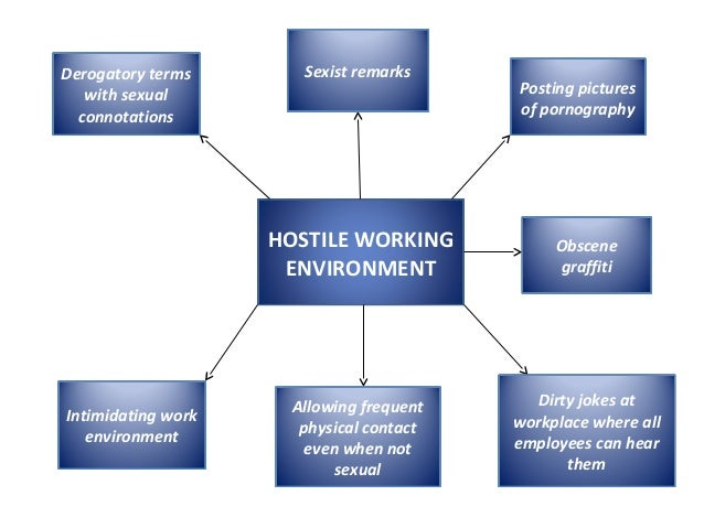 Hostile environment sexual harassment